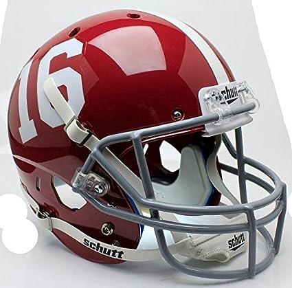 brand new f1c75 2049e Amazon.com : Alabama Crimson Tide #16 Officially Licensed ...