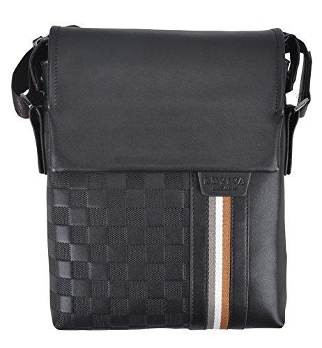 - Simplicity Men Bycast Leather Briefcase Messenger Shoulder Bag