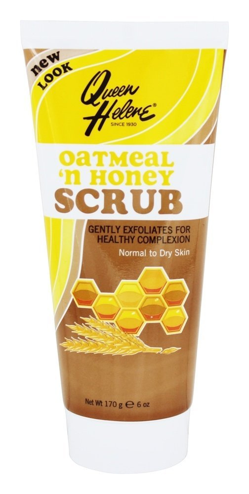 Queen Helene Oatmeal N Honey Facial Scrub 6oz. Tube (2 Pack)