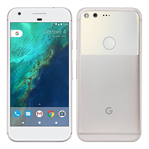 Pixel Phone by Google – 32GB – 5″ inch – Android Nougat – (GSM Only, No CDMA) Factory Unlocked 4G/LTE Smartphone (Very Silver) – International Version with No Warranty (Renewed)