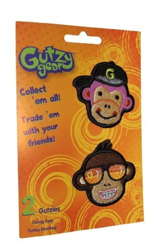 Gutzy Gear Going Ape and Funky Monkey Patches by Gutzy Gear