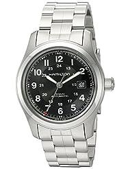 Hamilton Men's H70515137 Khaki Field Black Dial Watch