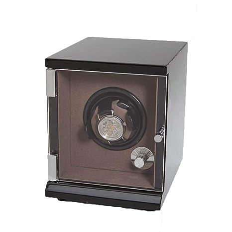 LDRAGON Sola Automática Reloj Winder Lntelligent Pantalla Táctil con Cajón Caja De Madera 5 Modos De