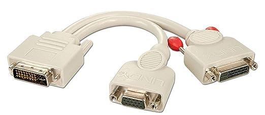 15 opinioni per Lindy 41048 0.2m VGA (D-Sub) White- video cable adapters (VGA (D-Sub),