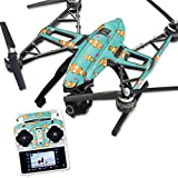 MightySkins Protective Vinyl Skin Decal for Yuneec Q500 & Q500+ Quadcopter Drone wrap cover sticker skins Clowning Around