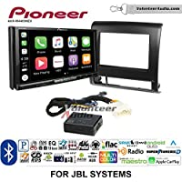 Volunteer Audio Pioneer AVH-W4400NEX Double Din Radio Install Kit with Wireless Apple CarPlay, Android Auto, Bluetooth Fits 2012-2015 Toyota Tacoma with Amplified System