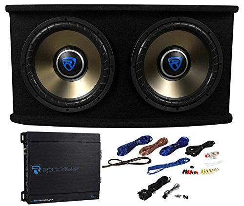 12in subwoofer and amp package - 4