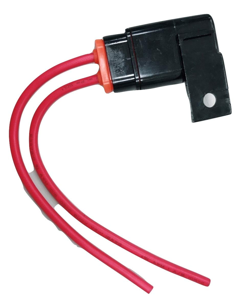 marine PHOTO-TOP 2PACK Waterproof in-Line ATO//ATC Fuse Holder 12AWG for automotive