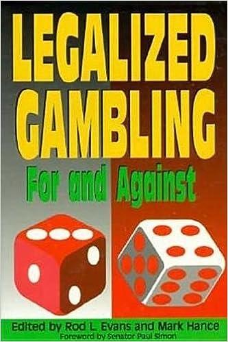 Cons of legalizing gambling casino companies