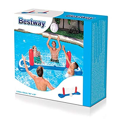 H2OGO! Inflatable Pool Volleyball Set: Toys & Games