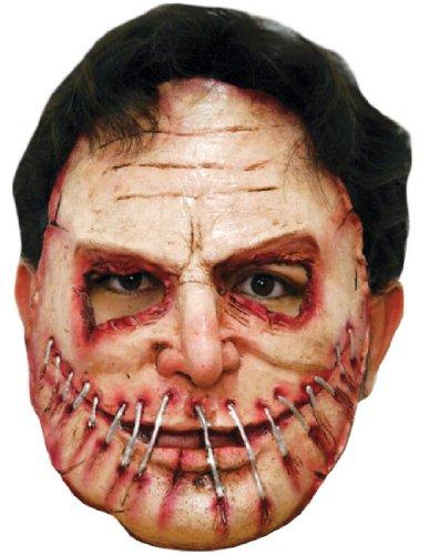 [Morris Costumes Serial Killer 9 Latex Mask] (Serial Killer Halloween Costume)