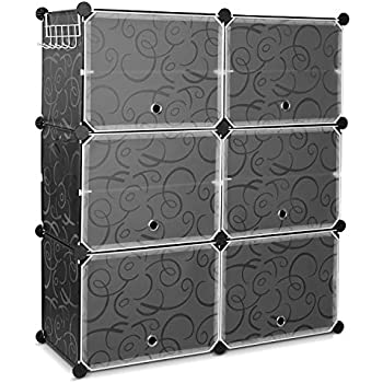 Amazon Com Langria 18 Cube Diy Shoe Rack Storage Drawer