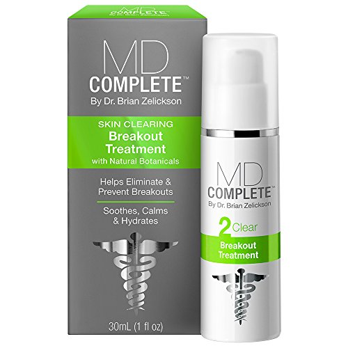 MD Complete Breakout Spot Treatment Acne Clearing 1.0 oz by Dr. Brian Zelickson BST