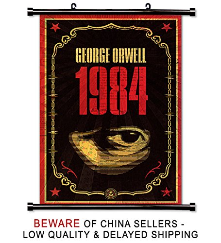 1984-George-Orwell-Book-Fabric-Wall-Scroll-Poster-16-x-26-Inches