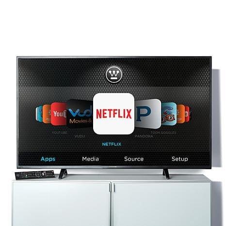 "Westinghouse 65"" Ultra HD 4K Smart TV with 2-Year Warranty"