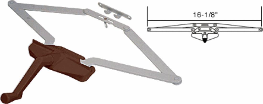 C.R. LAURENCE EP23011 CRL 16-1/8'' Bronze Roto Gear Awning Window Operator