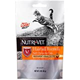 Nutri-Vet Hairball Formula Chicken and Tuna Flavor Soft Chews for Cats, 3-Ounce