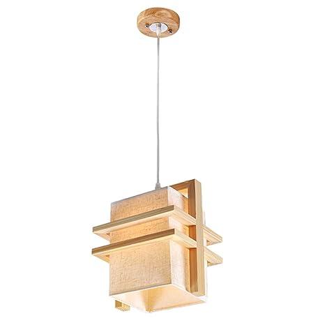 TopDeng Moderno Estilo japonés Lámpara colgante, E27 Luz ...