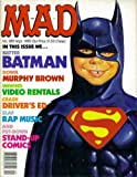 img - for Mad Magazine Issue #289: Batman (September 1989) book / textbook / text book