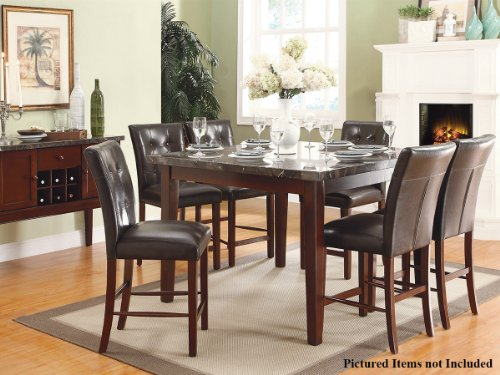 decatur 5 pc counter height dining table set by home