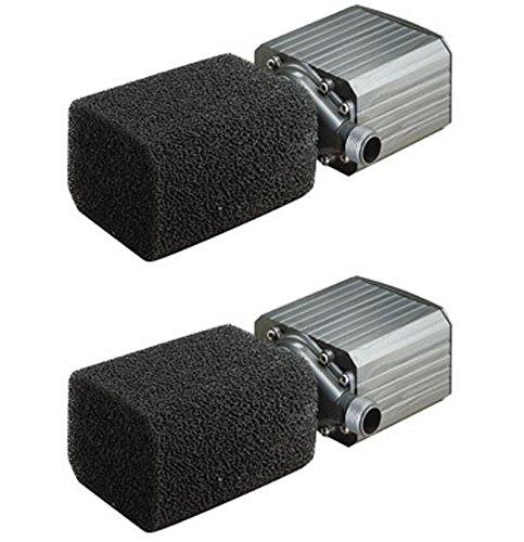 (2) PONDMASTER Model 18 Supreme 1800 GPH Mag Drive Fountain Pond Pumps | 02718 by Pondmaster
