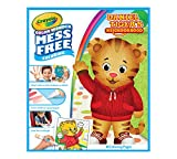 Crayola 75-2392  Color Wonder, Daniel Tiger's Neighborhood, 18 Mess Free Coloring Pages, Gift for Age 3, 4, 5, 6