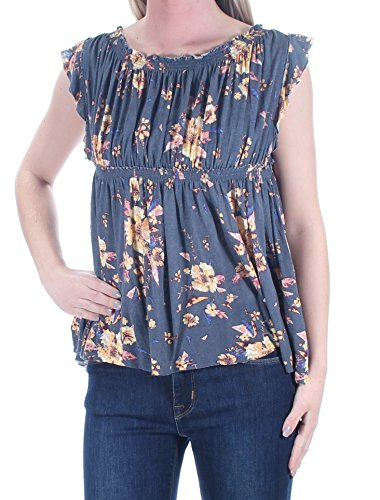 Free People Baby Doll (Free People Sam Off The Shoulder Navy X-Small)