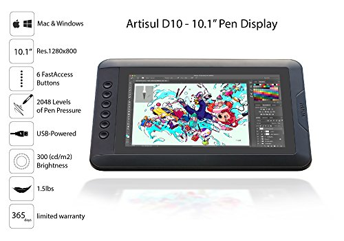 Artisul D10 - 10.1'' LCD Graphics Tablet with Display by Artisul (Image #1)