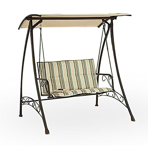 Garden Winds Caldwell House Swing Replacement Canopy Top Cover