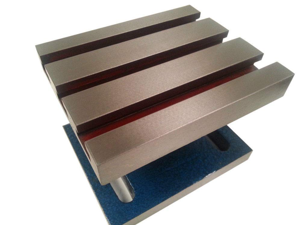 New - 5'' x 6'' Tilting Slotted Angle Plate by AI (Image #2)