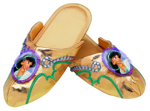 Jasmine Deluxe Slippers,Fits Girls (One -