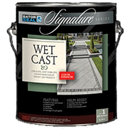 Gator Seal Signature Series for Wet Cast w/ Color Enhancer Low Gloss 1 Gallon