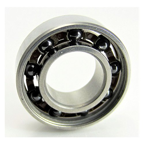 - 8x16x5mm S-688 Open Ball Bearing Hybrid Ceramic