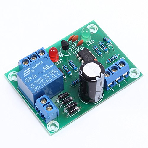 Liquid Water Level Detection Sensor Module, Maluokasa 12VDC/AC Relay Controller Switch Automation Detection Pump Tank Water Level ()