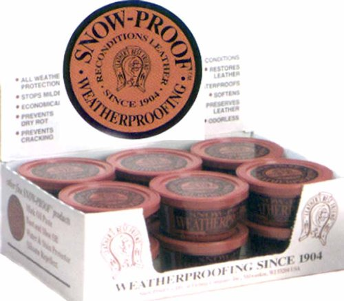 Snow Proof Weatherproofing Leather Conditioner 3oz
