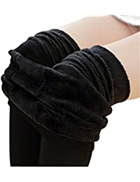 Vograce Women's Winter Warm Velvet Fleece Lining Stretch...