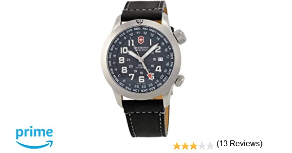 Amazon.com: Victorinox Swiss Army Mens 24832 SAF Airboss Mach 5 GMT Watch: Victorinox: Watches