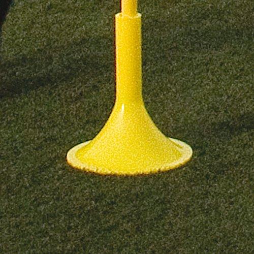 Central Soccer Sports Agility Training Slalom Pole Base Only