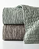King Three-Piece Hadon Quilt Set, GRAY, Size: KING