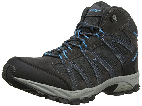 Hi-Tec Alto Mid Waterproof, Men's Hiking Boots Charcoal/Prussian