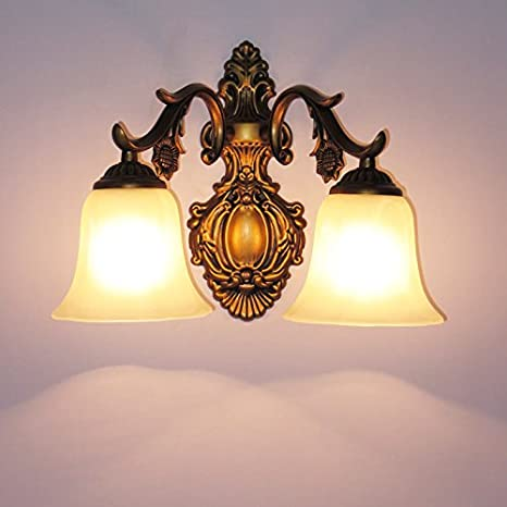 european corridor wall lamps american country rustic bedroom bedside