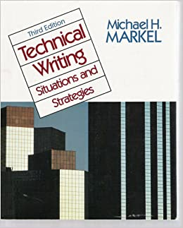 technical writing markel Start studying technical writing learn vocabulary, terms, and more with flashcards, games, and other study tools  according to markel's interpretation of .