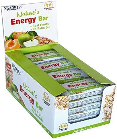 Weider Nature´s Energy Bar Manzana 60g. Barrita energética con un ...