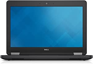 Dell Latitude E5250 12.5in Laptop, Intel Core i5-5200U 2.2GHz, 8GB RAM, 256GB Solid State Drive, Windows 10 Pro 64Bit (Ceritified Renewed)