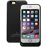 Bao Core BXT External Rechargeable Backup Extended Battery Charger Fully Protective Case Cover For Apple iPhone 6 Plus (5000mAh,Black)