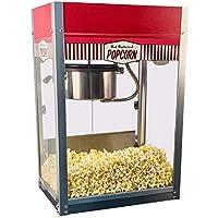 Paragon Vintage Pop Popcorn Machine, 8oz. + Free Vintage Pop Popcorn Cart (Medium)