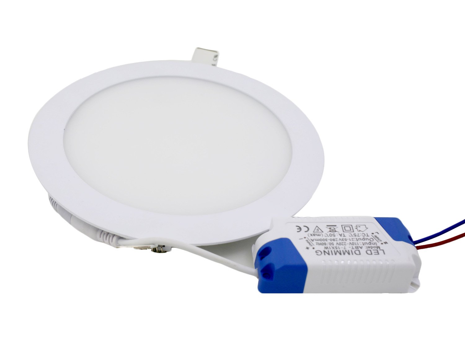72mm Cutout Aurora GU10 IP65 Compact Universal Fixed Insulation Coverable Fire Rated LED Downlights Matt White