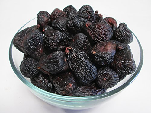 Organic Dried Black Mission Figs, 5 pound, US Grown