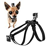 Dog Fetch Harnesses Chest and Back Strap with Puppy Belt Mount for GoPro HERO5/4/3/2/1 SJCAM SJ5000X SJ4000 XIAOMI YI Action Sports Camera Camcorder Accessories by Gizcam