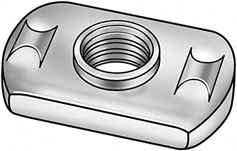 PK50 Steel #10-24 Tab Base Weld Nut with Projections